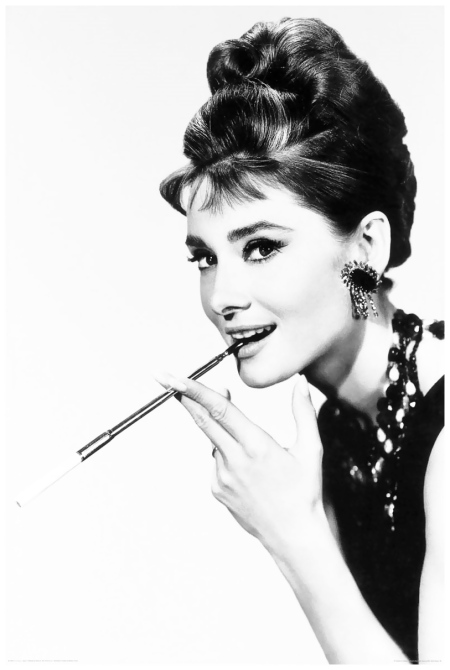 Audrey Hepburn  (Breakfast at Tiffany's)b1