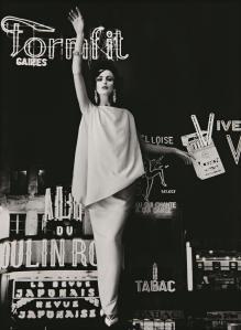 Dorothy + Formfit, Paris (Vogue), 1960 William Klein
