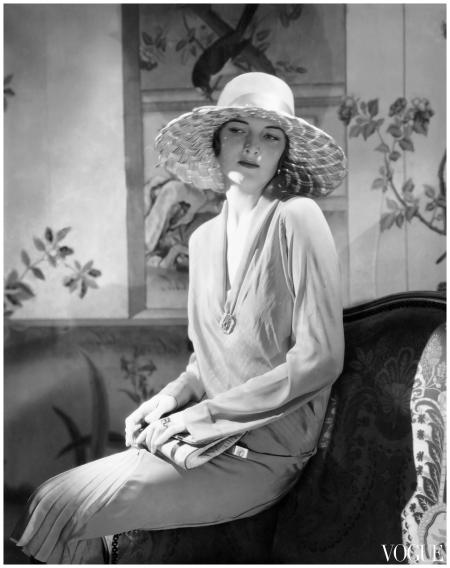 Muriel Finley Models Designs By Lanvin 1928