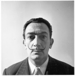 Salvador Dali, Studio Willy Rizzo, Paris, 1966 © Willy Rizzo d
