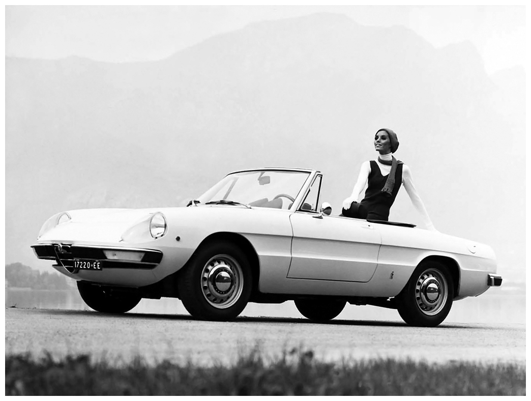 Alfa Romeo 1750 Spider Veloce 196971 Pleasurephoto Room