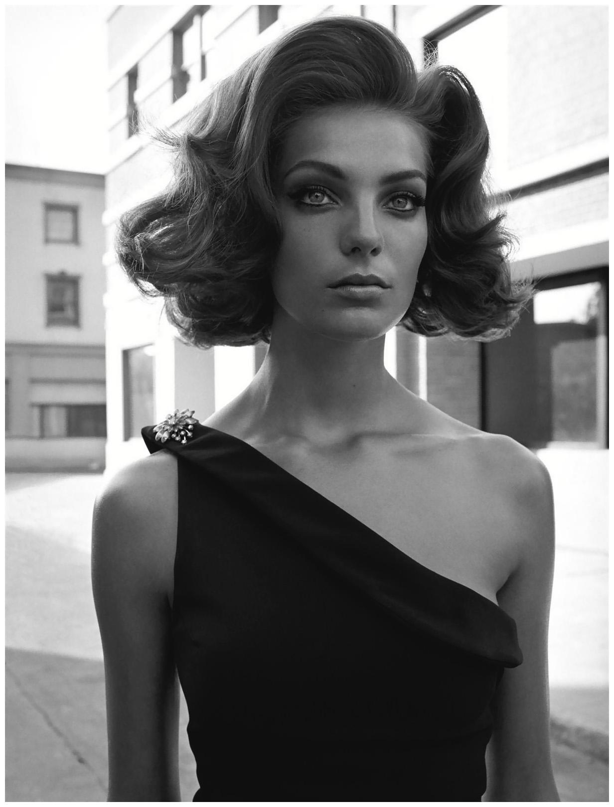 Daria Werbowy Bob Daria Werbowy Vogue it 2003
