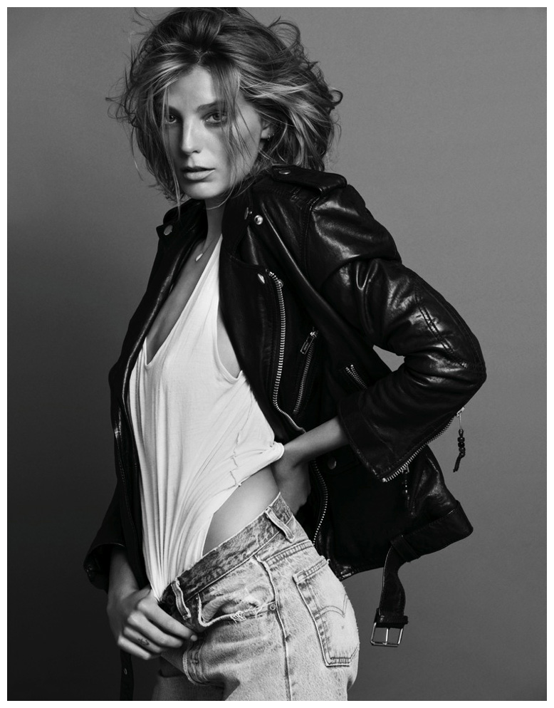 Daria Werbowy Shines On Fashion Canada S October 2013: © Pleasurephoto Room