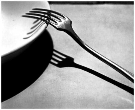 André Kertész - Fork, Paris, 1928