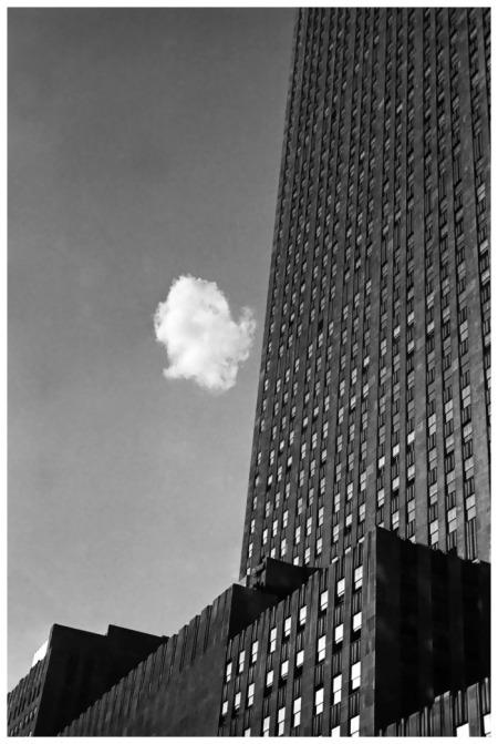 André Kertész, Le nuage égaré, New York, 1937