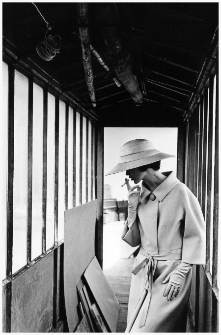 Fashion photo by Jeanloup Sieff, 1961