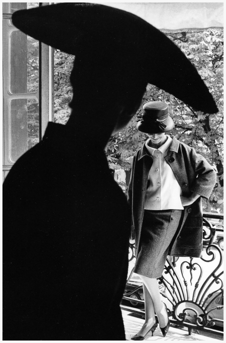 Fashion photograph for Jardin des Modes by Jeanloup Sieff, 1961