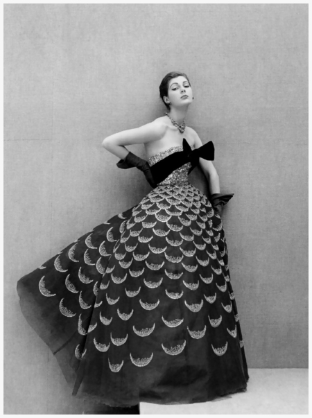 Fiona Campbell-Walter in Dior by Henry Clarke, 1951