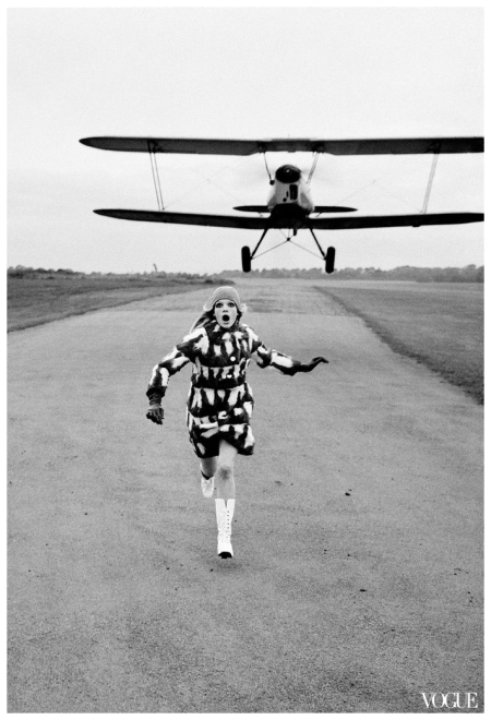 Helmut Newton, British Vogue, London, 1967
