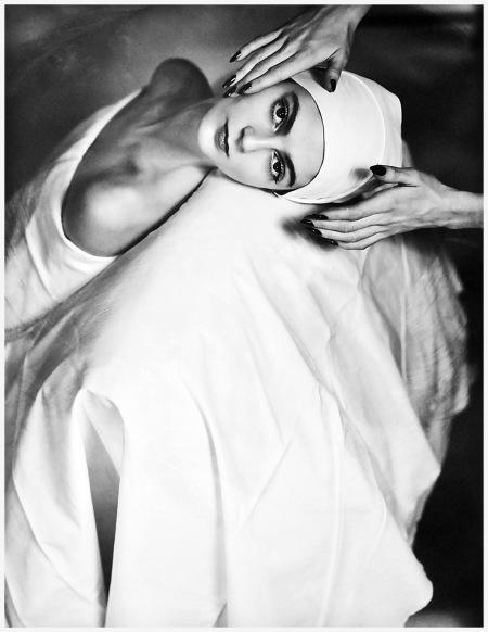 Horst P.Horst - Carmen Face Massage, NY 1946