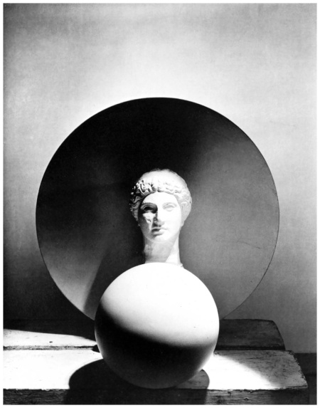 Photo Horst P. Horst - Classical Still Life - circle, disk, bust, 1937