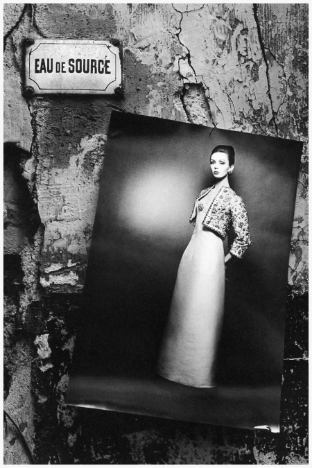 Ina Balke, The Paris Collections, photo by Jeanloup Sieff, Harper's Bazaar, 1963