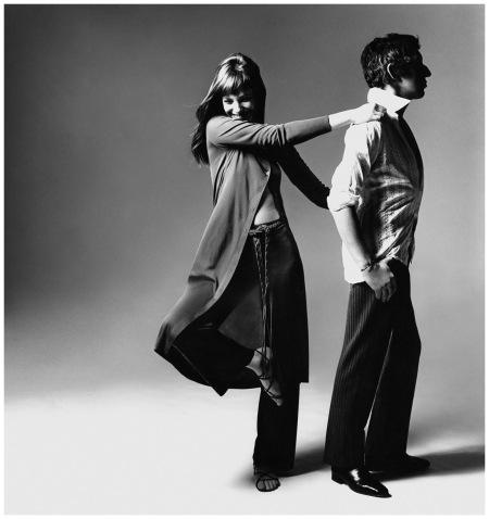Jane e Serge Vogue Photo Bert Stern - New York, USA 1970 b