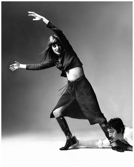 Jane e Serge - Vogue - Photo Bert Stern - New York, USA 1970