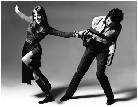 Jane e Serge Vogue Photo Bert Stern - New York, USA 1970