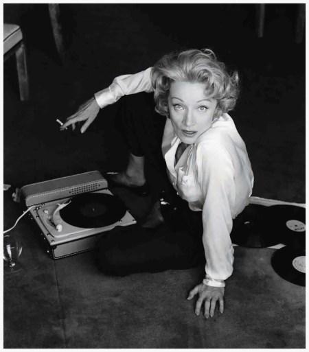Marlène Dietrich, Monte Carlo, 1956 © Willy Rizzo