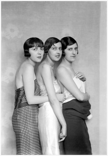 Modelle di Patou - Boris Lipnitzki, Parigi, 1927