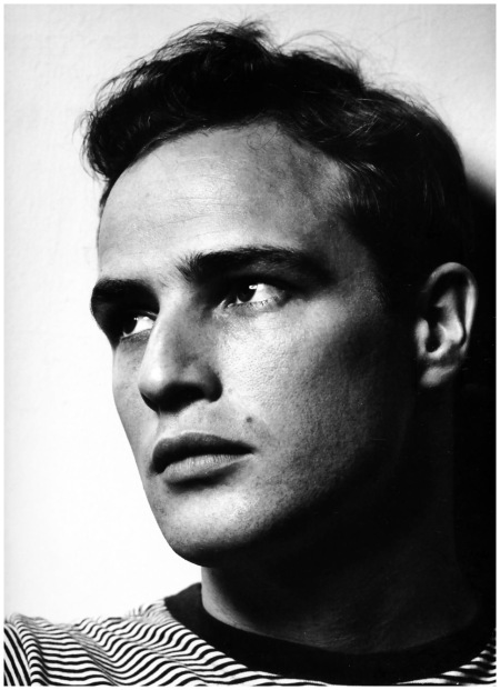 Philippe Halsman - American actor Marlon Brando, New York City, 1950
