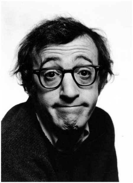 Philippe Halsman - The American actor and film director Woody Allen. New York City, 1969