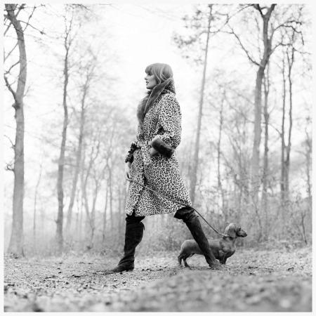 Photo Patrick Lichfield - Grace Coddington - Buckinghamshire 1964
