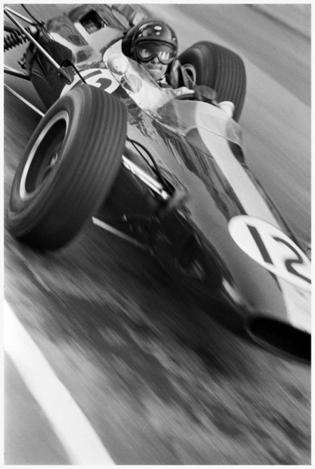 Photo Patrick Lichfield  - Jim Clark - Monaco  Grand Prix - 10 May - 1964
