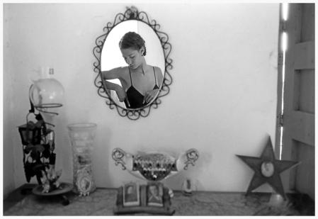 Aci Trezza. 1987.The Dutch model MARPESSA photographed for DOLCE & GABBANA
