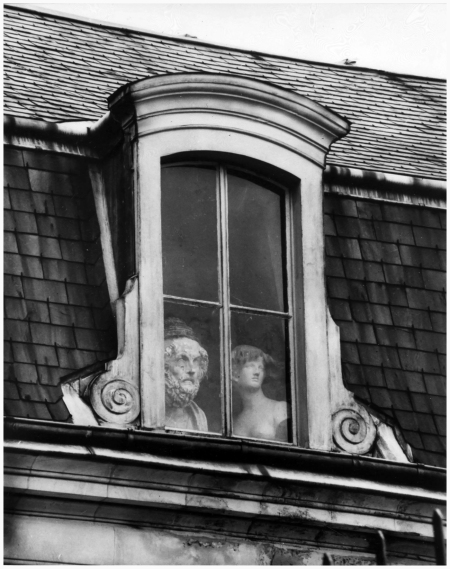 André Kertész - A Window on the Quai Voltaire, Paris, 1928