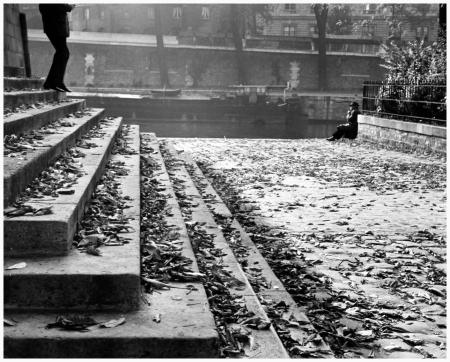 André Kertész - Vert Galant on a Fall Afternoon, 1963