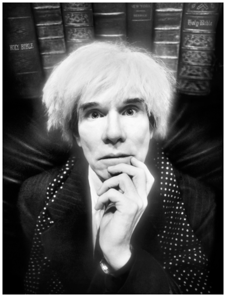 Andy Warhol Photographed by David LaChapelle
