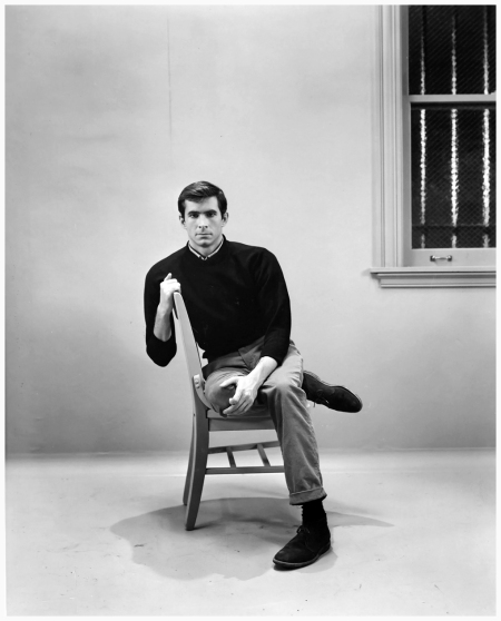 Anthony Perkins - Norman Bates Alfred Hitchcock - Psycho