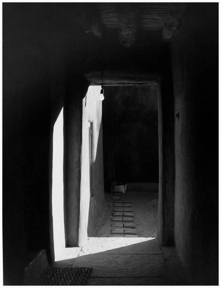 Door to Patio, O'Keeffe's House, Abiqui, New Mexico, 1981