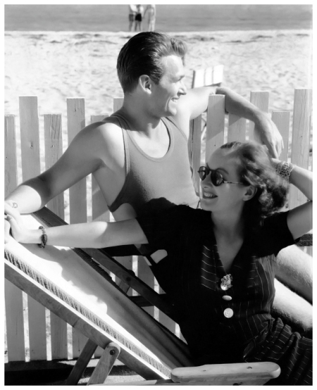 Douglas Fairbanks Jr. and Joan Crawford, photographed by Edward J. Steichen in 1931