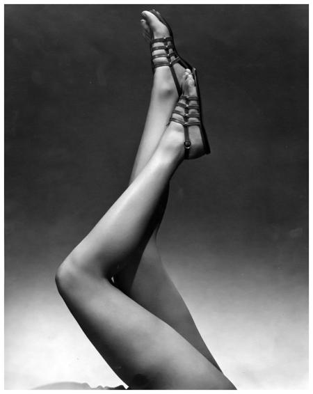 Photo Edward Steichen Model wearing sandals. 1934