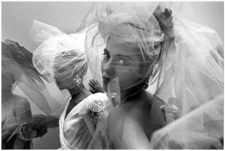 "Ferdinando Scianna - ""Fashion Show in Paris"" (France 1989)"