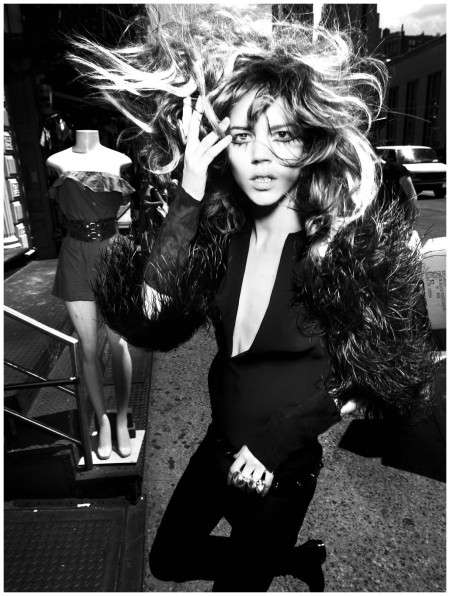 Freja Beha Erichsen Photographed by Mario Testino for V magazine (#67) 2010