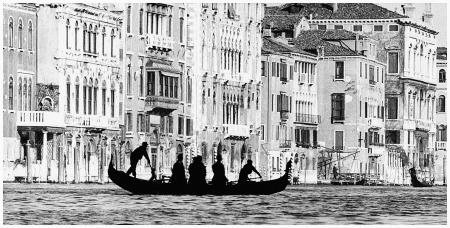 Gianni Berengo Gardin, Venezia, %22Il traghetto di san Tomà%22, 1959