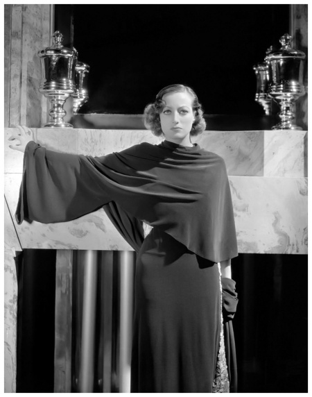 Joan Crawford camera negative from Today We Live by George Hurrell1933