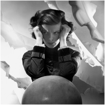 Katharine Hepburn, by Cecil Beaton, 1935, publ. July 1935