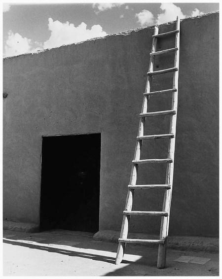 Ladder at O'Keeffe's, 1957, Todd Webb