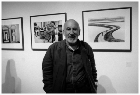 Milan portrait of Gianni Berengo Gardin