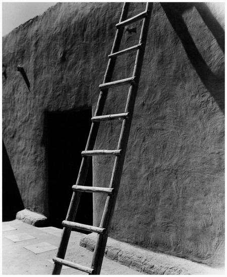 O'Keeffe's House, Abiqui, New Mexico, 1981 - Todd Webb b