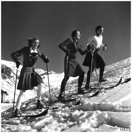 Photo Roger Schall, Vogue, December 1938