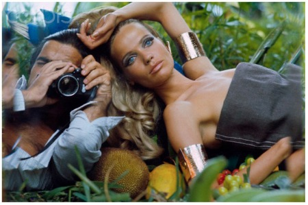 Franco Rubartelli and Veruschka