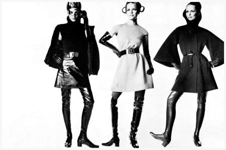 Pierre Cardin 1968 Photo by Irving Penn Model Lauren Hutton