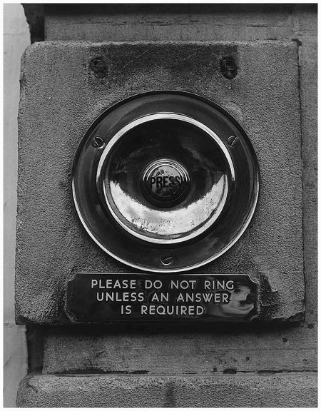 Please Do Not Ring