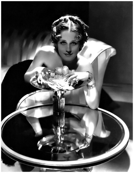 Publicity shot of Norma Shearer by George Hurrell b