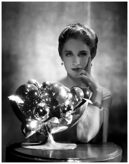 Publicity shot of Norma Shearer by George Hurrell