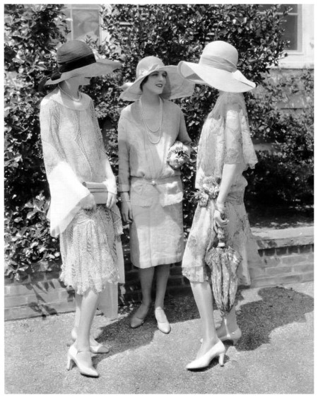 Three Model 1926. Photograph by Edward Steichen Vogue