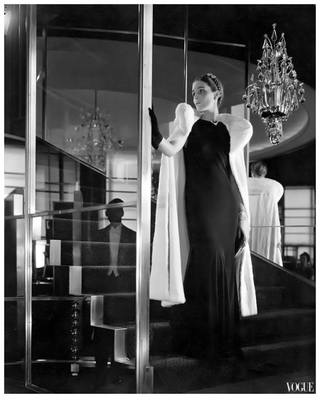 Photo by Edward Steichen published in Vogue Sept. 1934