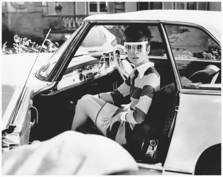 Audrey Hepburn On the set of %22Two for the Road%22, 1967 20th Cent jury Fox Film Corporation